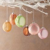 Glass Macaron Ornaments (Set of 6)