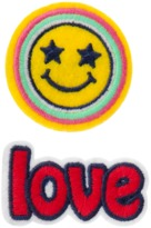 Crazy 8 Love Emoji Barrettes 2-Pack