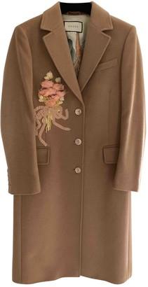 Gucci Camel Coats