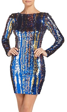 Dress the Population Lola Sequined Mini Dress