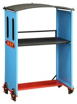 ACME Furniture Tobi Kids Train Desk - Blue - Acme