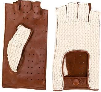 Gala Gloves fingerless driving gloves