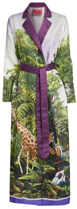 F.R.S For Restless Sleepers Silk Belted Robe