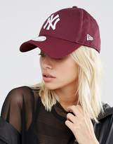 New Era 9 Forty Cap in Berry