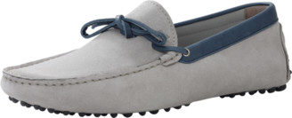 Le Tombeur Gris Suede Loafer