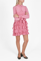 Paul & Joe Silk Ruffle Dress