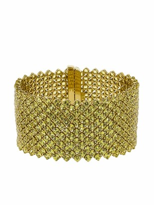 Bayco 18kt Yellow Gold Sapphire Bracelet