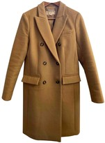 Michael Kors Beige Wool Coats