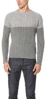 Hartford Shetland Cable Sweater