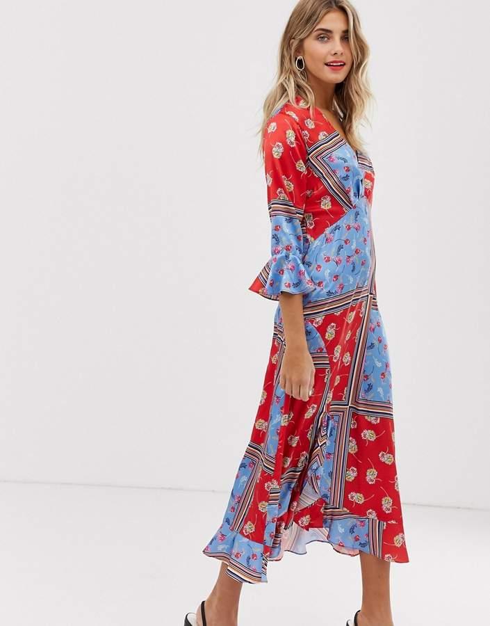 6310c3b9f766 Wrap Front Sequin Dress - ShopStyle UK
