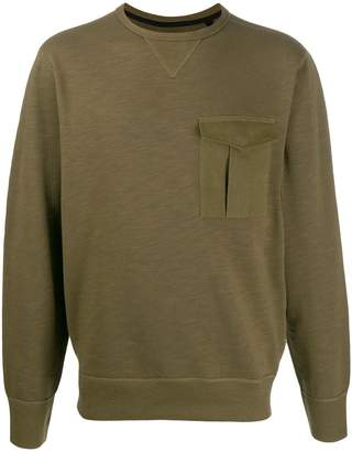 Rag & Bone chest pocket detail sweatshirt