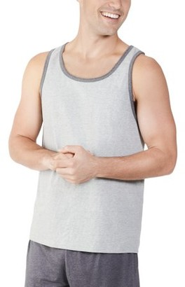 Fruit of the Loom Men's and Big Men's Dual Defense UPF Sleeveless Tank Top, Up To Size 4XL