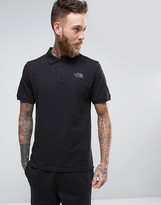 The North Face Pique Polo in Black