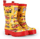 Hatley Boy's Fire Trucks Rain Boots