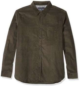 French Connection Men's Regular Fit Flannel