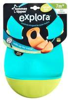 Tommee Tippee Explora Easi Roll Bib, Blue and Green, 2 Count by