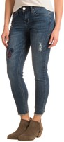 Seven7 Ankle Skinny Embroidered Jeans (For Women)