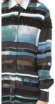 3.1 Phillip Lim Striated Shirt with Beading