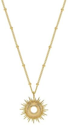 Estella Bartlett Full Sunburst Necklace