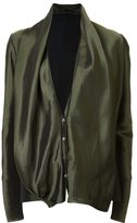 Haider Ackermann draped oversize blouse