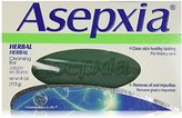 Asepxia Herbal Bar Soap with Moisturizers Cleansers and Conditioners, 4 Ounce