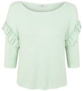 George Ruffle Sleeve Top