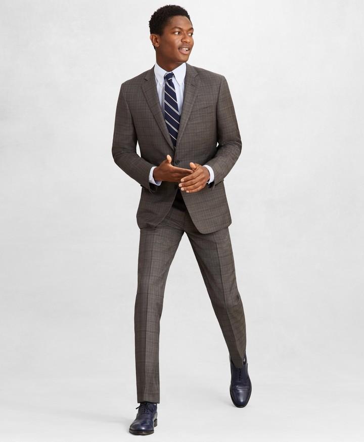 Brooks Brothers Golden Fleece Regent Fit Plaid Suit