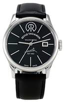 Revue Thommen Men's 101.01.02 1853 Classic Analog Display Swiss Automatic Black Watch