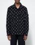 Engineered Garments CPO Shirt Navy/Grey Polka Dot