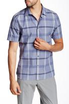 Perry Ellis Slim Fit Plaid Shirt