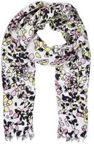 Allude Multicolor Abstract Print Scarf w/ Tags
