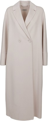 Max Mara White Wool Coat
