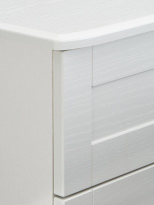 Frodsham Ready Assembled 3 Piece Package - 5 Drawer Chest and 2 Bedside Chests