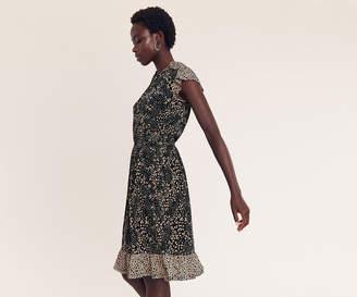 Oasis Mollie Leopard Dress