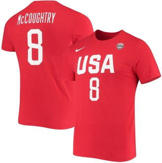 Nike Women's Angel McCoughtry USA Basketball Red Name & Number Performance T-shirt
