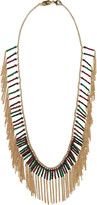 Rosantica Nepal gold-dipped multi-stone necklace
