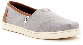 Toms Classic Chambray Slip-On Shoe (Little Kid & Big Kid)