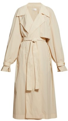 The Row Kareem Oversized Trench Coat - Beige