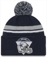 New Era Dallas Cowboys Diamond Stacker Knit Hat