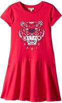 Kenzo Classic Tiger Dress Girl's Clothing