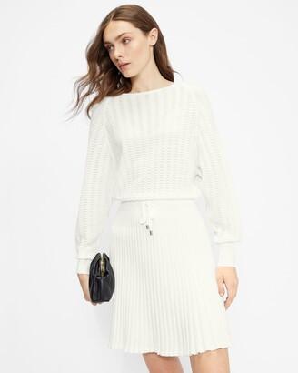 Ted Baker Pointelle Knit Dress
