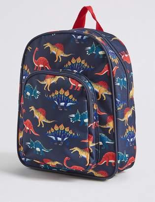 Marks and Spencer Kids Dinosaur Water Repellent Backpack