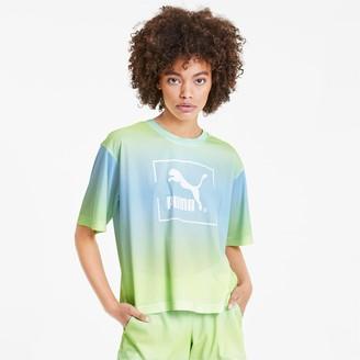 Puma Tie Dye Women's Mesh Tee