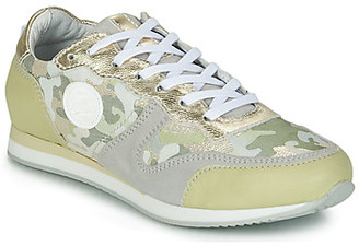 Pataugas IDOL/MIX women's Shoes (Trainers) in Green