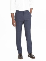 Banana Republic Slim Nanotex Wool Pant