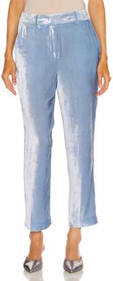 Sies Marjan Willa Cropped Pant in Light Blue | FWRD