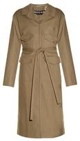 Rochas Four-pocket wool-blend coat