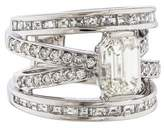 Ring Diamond Crisscross