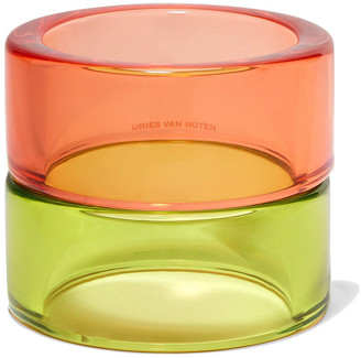 Dries Van Noten Set Of Two Perspex Bangles
