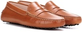 Tod's Gommini Leather Loafers